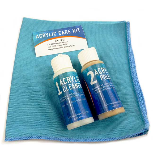 Acrylic/Plastic Cleaning Kit