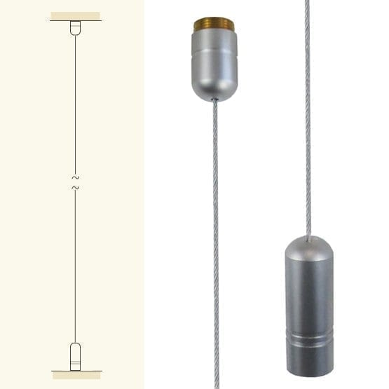 Ceiling to Floor Cable Suspension Kit