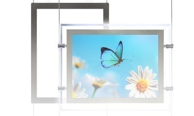 Acrylic Accessories for Cable & Rod Displays